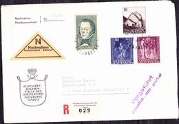 Liechtenstein - Peter Kaiser; Historiker  + Weihnachten (MiNr: 445/8) 1965 - FDC * - FDC