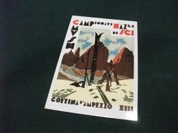 CAMPIONATI NAZIONALI SCI CORTINA D'AMPEZZO XIII INTERCARD - Manifestaciones