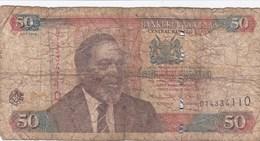 Kenya - Billet De 50 Shillings - Mzee Jomo Kenyatta - 16 Juillet 2010 - Kenya