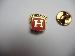 Superbe Pin's , Baseball ?? Athletics H , Houston ?? - Honkbal