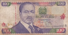 Kenya - Billet De 100 Shillings - Daniel Toroitich Arap Moi - 1er Juillet 1996 - Kenya