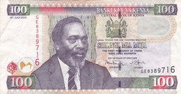 Kenya - Billet De 100 Shillings - Mzee Jomo Kenyatta - 16 Juillet 2010 - Kenya