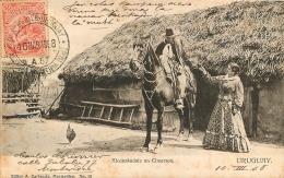URUGUAY ALCANZANDOLE UN CIMARRON - Uruguay