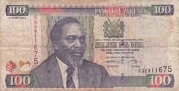 Kenya - Billet De 100 Shillings - Mzee Jomo Kenyatta - 1er Juin 2005 - Kenya