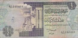 Libye - Billet De 1/2 Dinar - 1990 - Libya