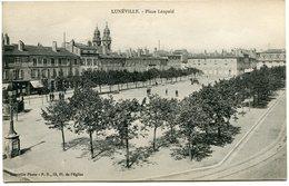 CPA - Carte Postale - France - Luneville - Place Léopold  (CPV728) - Luneville