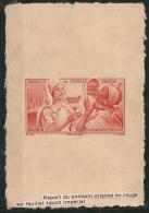 Guyane - 1942 - Poste Aérienne PA N°Yv. 22 - Epreuve Sur Feuillet Japon - French Guiana (1886-1949)