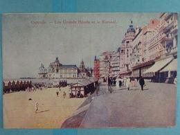 Ostende Les Grands Hôtels Et Le Kursaal - Oostende