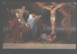 Kruisweg / Chemin De  Croix - Painting Gebhard Fugel - White Back - Station XII - Jezus
