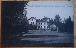 69 : Saint-Christophe-la-Montagne - Villa Pressavin - (n°10378) - Frankreich