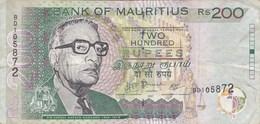 Ile Maurice - Billet De 200 Rupees - Abdool Razack Mohamed - 2007 - Mauritius