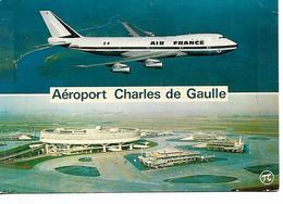 AEROPORT CHARLES DE GAULLE BOEING AIR FRANCE - Aerodrome