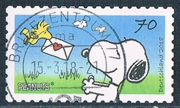 2018  Peanuts  ( 70 Cent )  Selbstklebend - [7] République Fédérale