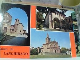 LANGHIRANO PAESE PARMA VEDUTE  SALUTI N1980 GQ53 - Parma