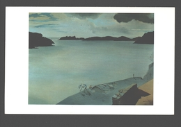 Port Lligat - Landscape Of Port Lligat - Painting Oil On Canvas (1950) - Spain