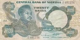 Nigeria - Billet De 20 Naira - Général Murtala R. Muhammed - 2001 - Nigeria