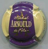 CAPSULE-CHAMPAGNE ARNOULD Michel & Fils N°35 Violet Foncé Contour Crème - Other