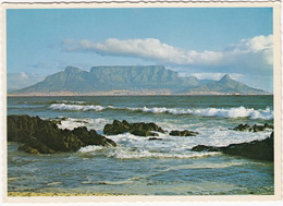 Cape Town / Kaapstad - Table Mountain From Blouberg Strand - South Africa - Zuid-Afrika