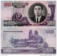 NORTH KOREA       5000 Won      P-46[c]    J. 95 / 2006   UNC - Corea Del Nord