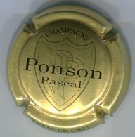 CAPSULE-CHAMPAGNE PONSON Pascal N°01 Or-bronze & Noir - Other