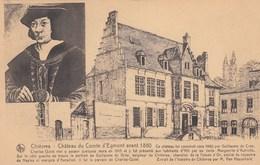 CHIEVRES / CHATEAU DU COMTE D EGMONT AVANT 1880 - Chièvres