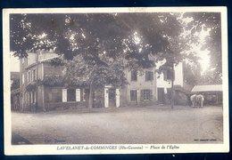 Cpa Du 31 Lavelanet De Comminges Place De L' église   MARS18-03 - Autres Communes