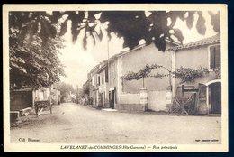 Cpa Du 31 Lavelanet De Comminges Rue Principale  MARS18-03 - Autres Communes