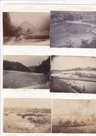 ASIE / VIETNAM / ANNAM /  6 PHOTOS DEBUT 1900 / RIVIERE NOIRE VERS SON LA / LOUANG MABANG / CHO DZUA / - Plaatsen