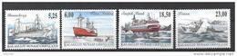 Groënland 2005 N° 420/423 Neufs Bateaux IV - Greenland