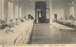 Hôpital(privé) Hôtel Dieu De Jumet Du Dr L. Dogniaux,salle De Chirurgie(carte Vendue En L'état) - Charleroi