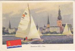 Latvia Riga , Sailing Regata - Latvia
