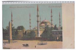 TURQUIE -- CONSTANTINOPLE -- MOSQUEE AHMED ET HIPPODROME -- - Türkei