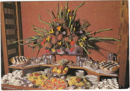 In The Dining-car Of The Blue Train - In Die Eetwa Van Die Bloutrein - S.A.R./S.A.S. Postcard - South Africa - Zuid-Afrika