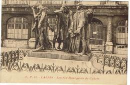 CPA - SCULPTURE - CALAIS - Les Six Bourgeois - Auguste RODIN - - Sculptures