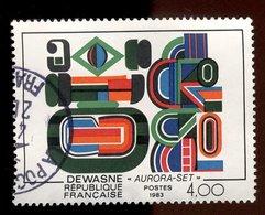 France 1983 - Oblitéré - Y&T N° 2263 - Jean Dewasne - Aurora-Set - Gebraucht