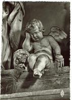 CPSM - SCULPTURE - AMIENS - Cathedrale - L'ANGE PLEUREUR  (Nicolas BLASSET) - Sculptures
