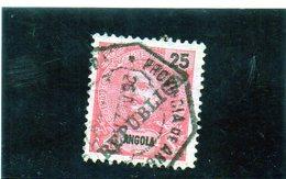 B - 1903 Angola - Re Carlo I (soprastampato) - Angola
