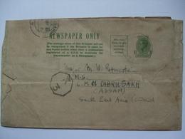AUSTRALIA - George VI Newspaper Wrapper Camp Pell To Dibrugarh India With Censor Mark - 1937-52 George VI