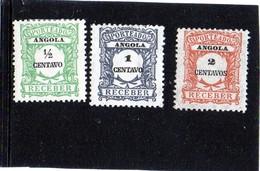 B - 1921 Angola - Segnatasse (linguellato)) - Angola