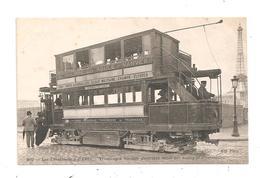 Les Trabsports à Paris- Tramwayà Traction électrique-(C.3856) - Transport Urbain En Surface