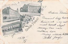 Udvozlet Paparol ! (multi Vues). Bonne Date. 1899. - Hongrie