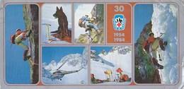 Vysoke Tatry Hohe Tatra - Mountain Rescue Service , Alonistic Climbing - Helicopter - Big Size Postcard 21 X 10,50 Cm - Slovakia