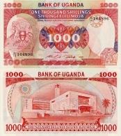 UGANDA       1000 Shilingi       P-26       1986       UNC - Uganda