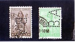 B - 1932 Angola - Ceres (perfin) - Angola