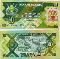 UGANDA       10 Shilingi       P-28       1987       UNC - Uganda