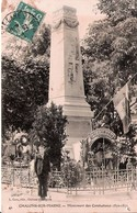 51 Chalons Sur Marne Monument Des Combattans 1870-1871 - Châlons-sur-Marne