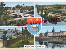 53- CHATEAU GONTIER -VUE GENERALE- PARC DES SPORTS- ENTREE DU JARDIN ANGLAIS- L' HOPITAL - Chateau Gontier