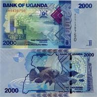 UGANDA       2000 Shilingi       P-50a       2010       UNC - Uganda