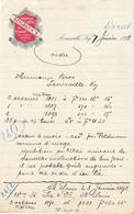 Etats Unis. Kentucky - Louisville -  Entête Du 7 Janvier 1898 - European Hotel - Seelbach's . - Invoices & Commercial Documents