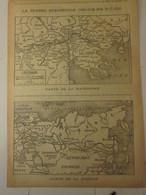 Guerre 14-18 Carte De SIBERIE Et Macédoine    Aout  1916 Septembre   1918 Chine  China  Crete  Serbie - Supplies And Equipment